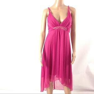 Speechless Girls Dress Size M Fushia Pink